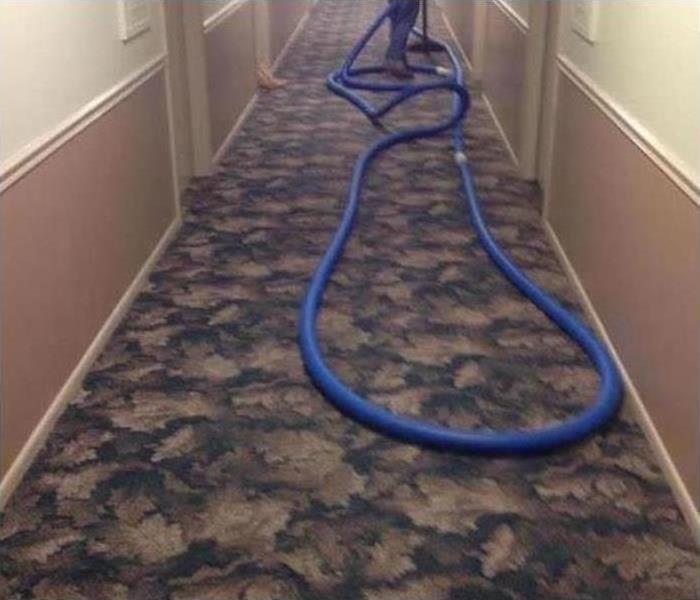 Commercial Water Damage – Exeter Office Building Before