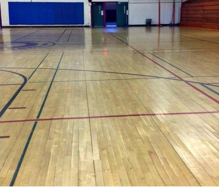 A Portsmouth Gymnasium Experiences Water Damage Before
