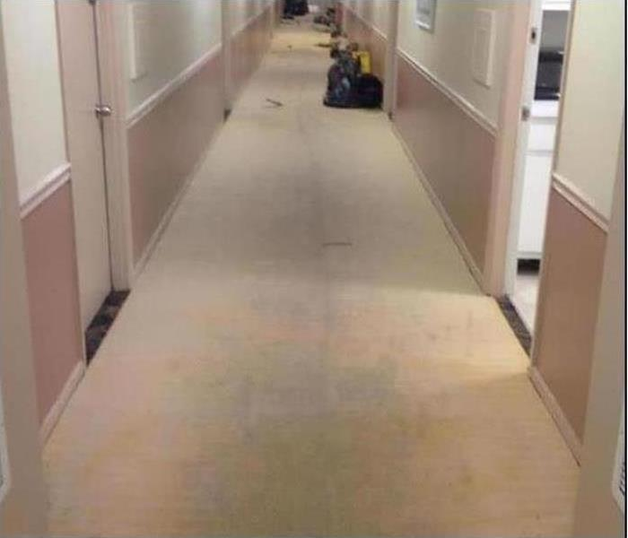Commercial Water Damage – Exeter Office Building After