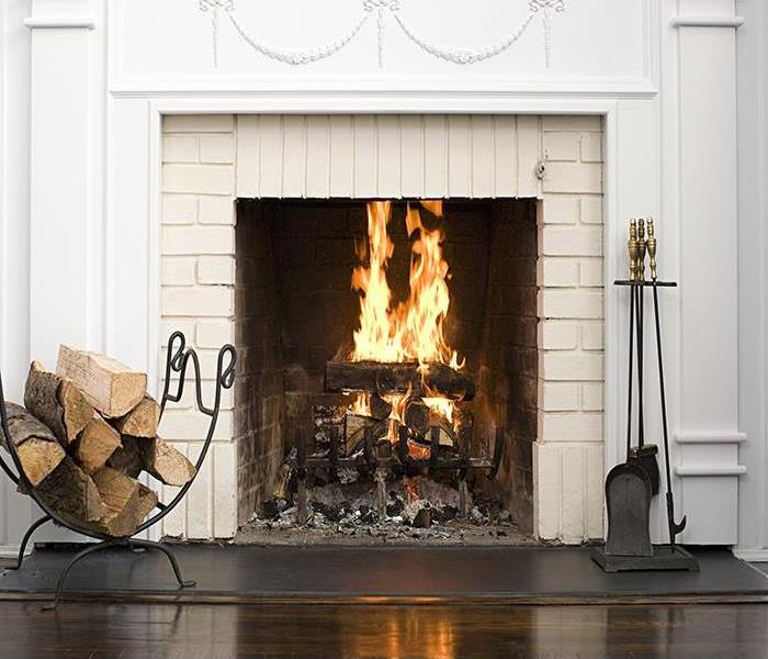 Fire Damage When Heating Your Home Creates Smoke And Fire Damage In Hampton