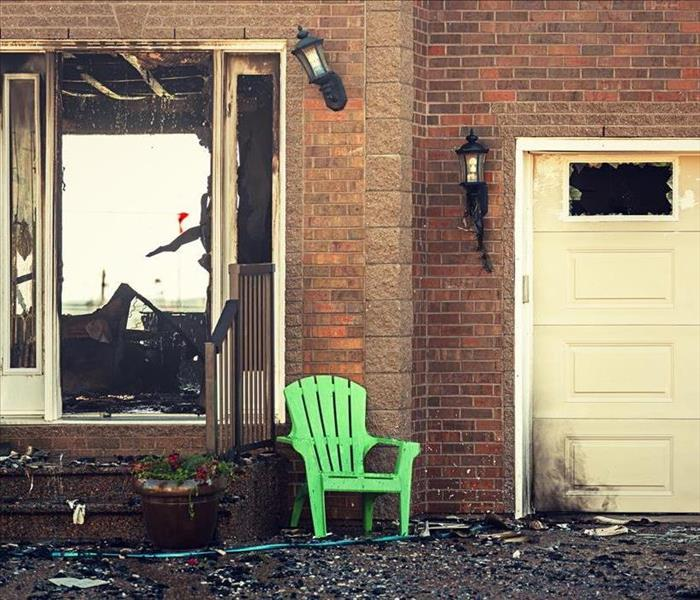 Fire Damage After Fire Damage Scathes Your Greenland Home's Garage, Restoring It Protects Your Property